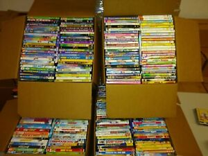 Kids 100 DVD Lot Wholesale Bulk Assorted Children's Family Movies