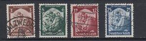 Deutsches-Reich-Michel-Nr-565-568-gestempelt