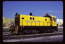 Original Slide Ventura County Railway ALCO S6 7 In 1980 At Oxnard CA