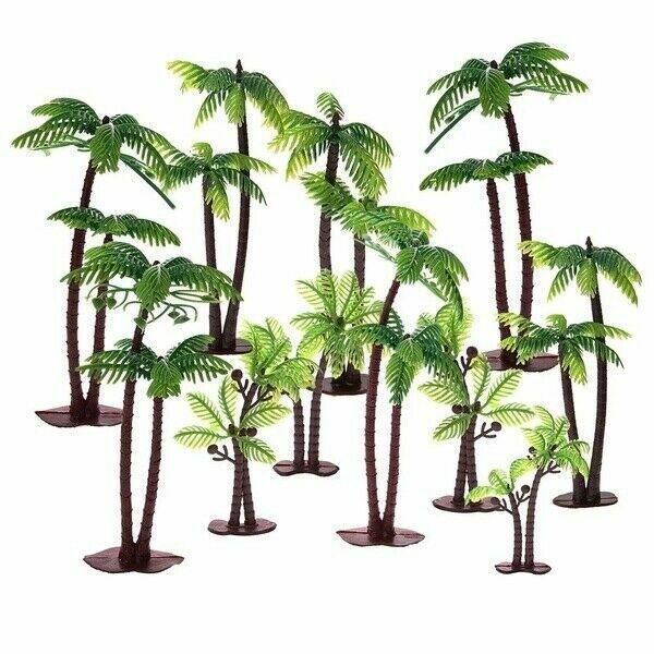 Magnificent Cake Decorating Pick Topper Cupcake Decorator Twin Coconut Palm Birthday Cards Printable Trancafe Filternl