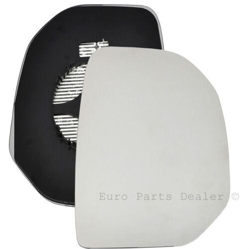 Wing door Mirror Glass Driver side for Citroen Berligo 2008-2012 Heated