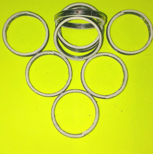 38mm ID     A46 ALLOY AND FIBRE EXHAUST GASKETS SEAL HEADER GASKET RING 46mm OD