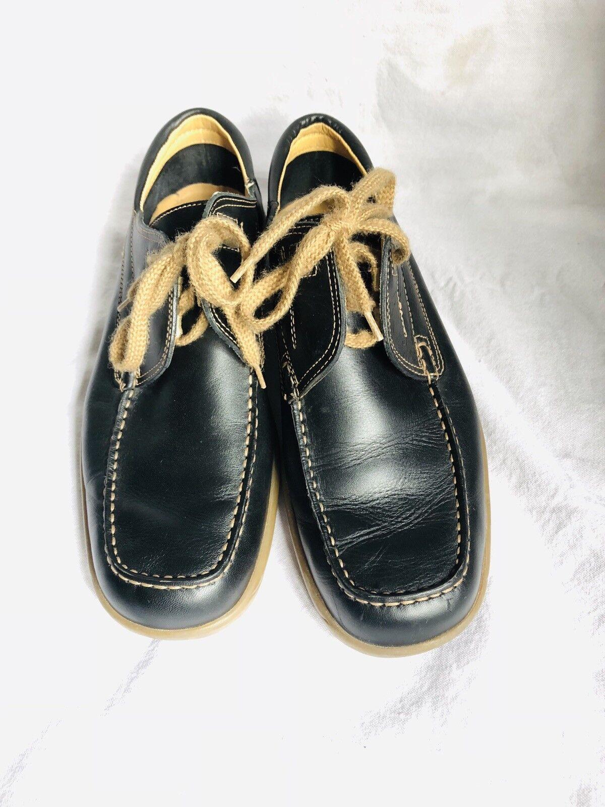 Vintage Mens Bally Dark bluee Loafer . Size 7.5