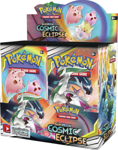 POKEMON TCG SUN & MOON COSMIC ECLIPSE BOOSTER BOX - FACTORY SEALED! SHIPS 11/1!