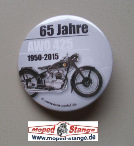 65 Jahre SIMSON AWO Fanartikel ähnlich Pin für DDR Oldtimer Button Ø59mm