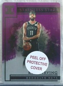 2019-20 Panini Impeccable Stainless Stars Purple #19 Kyrie Irving 33/49