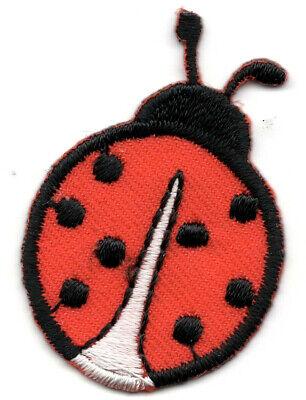 Ladybug Insects Bugs Ladybugs Iron On Embroidered Patch