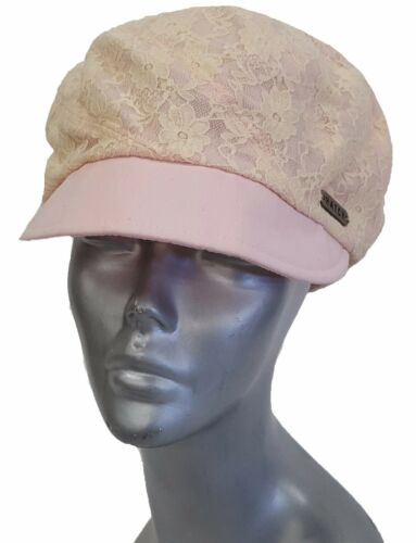 Women/'s Soft Cotton Linen Cap hat available on Pink or White Adjustable