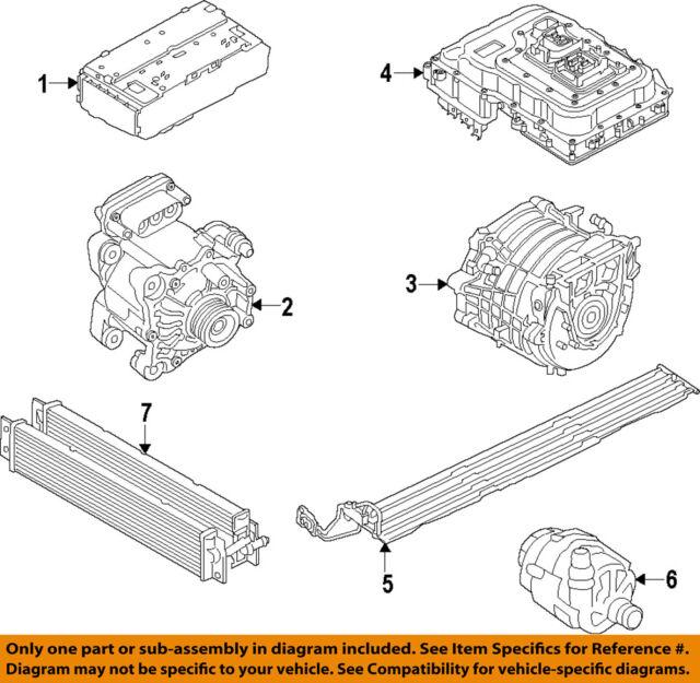 Genuine Bmw I8 Radiator 17 11 7 649 142 Ebay