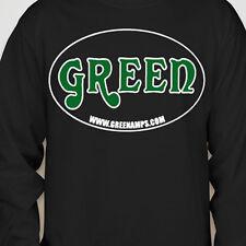 GREEN Amp Electricamp MATAMP USA Long Sleeve MEDIUM Shirts OFFICIAL MERCHANDISE