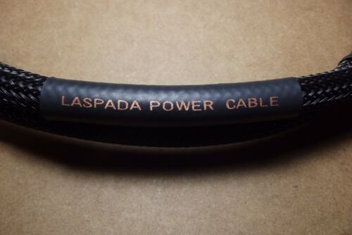 12 AWG AUDIOPHILE POWER CORD BY LASPADA AUDIO 6 FT.