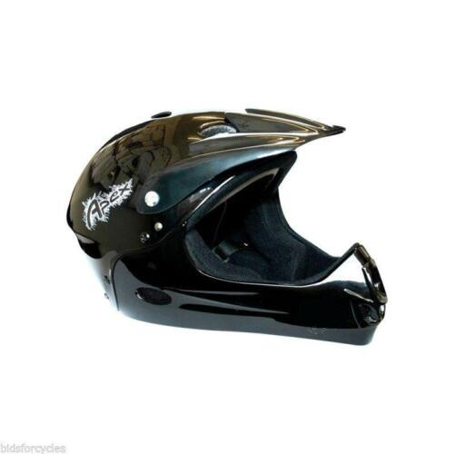 ETC Youth Children Stunt Bicycle BMX MTB Mountain Bike Full Face Helmet Black