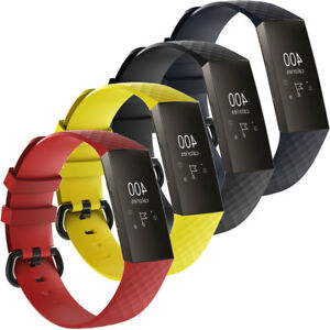 Cinturino-ALL-GRIP-silicone-regolabile-polso-sportivo-fibbia-per-FitBit-Charge-3