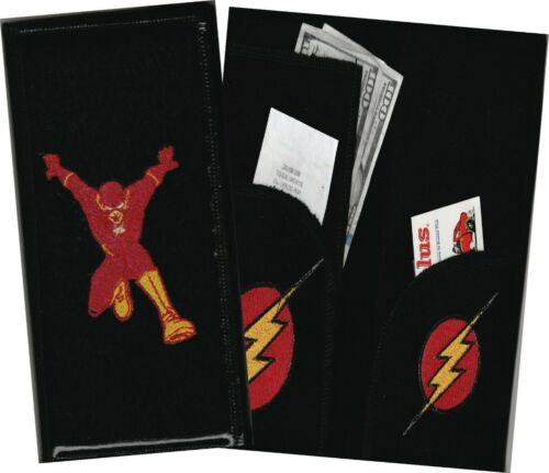 DC Comic Character Material Wallet /& Aprons Server Book