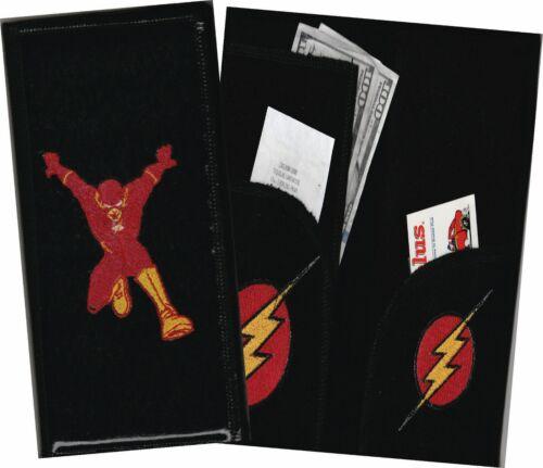 DC Comic Character Material Wallet /& Aprons Server Book