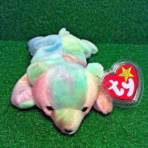 bf1d006acb4 1998 MWMT Ty Beanie Baby Sammy The Bear RARE Retired GASPORT Error ...