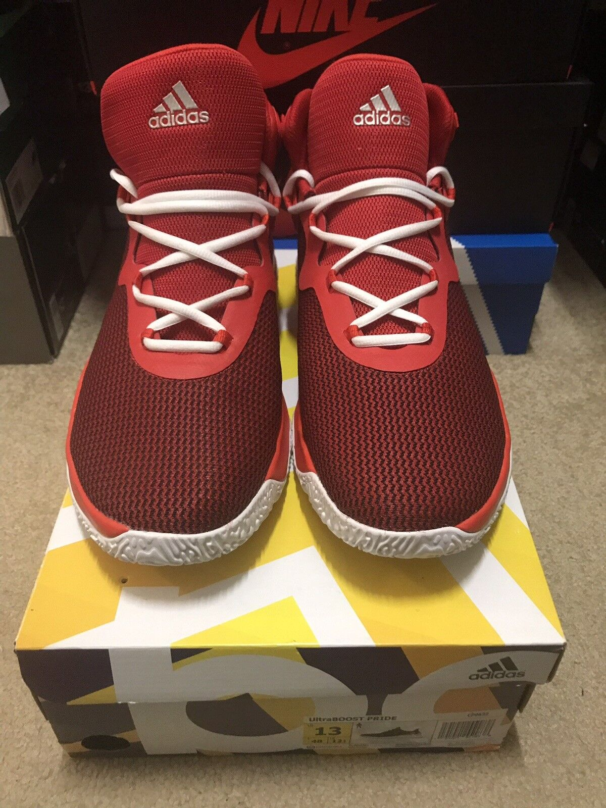 Adidas Explosive Bounce Bounce Bounce Size 13 Ultra Boost