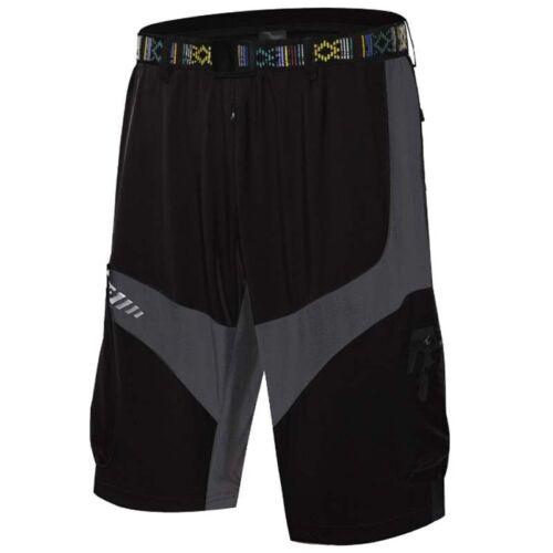 Men/'s MTB Cycling Shorts Mountain Shorts Shorts Bicycle Summer Cargo Loose Pants