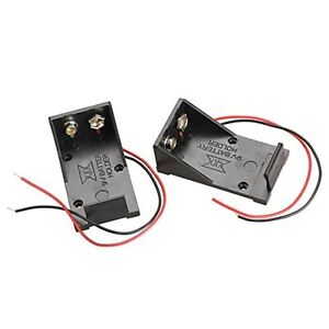 2pcs-Single-Slots-1x-9V-Battery-Clip-Holder-Case-Box-with-Wire-Leads-DIY-BEST