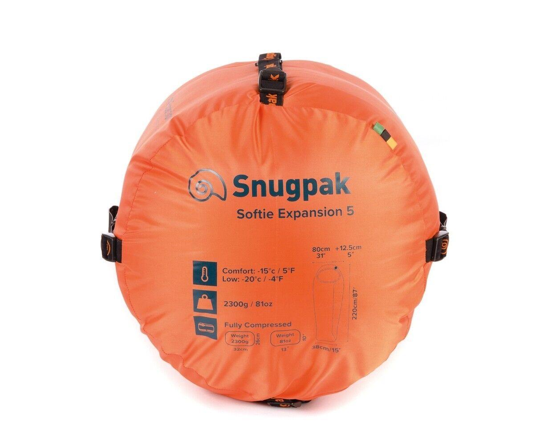 Snugpak Softie expansión 5 5 expansión Saco De Dormir - 4+ Temporada Saco dormir de -20 ° C d57bab