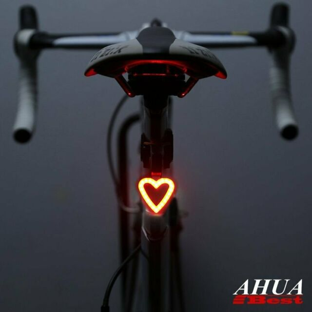 Ultra Bright Bicycle Tail Light USB Rechargeable Cycling Bike COB Rear Back Lamp