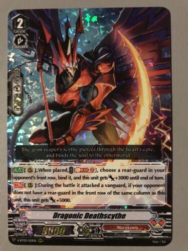 V-BT03//013EN RRR CARDFIGHT VANGUARD DRAGONIC DEATHSCYTHE NARUKAMI