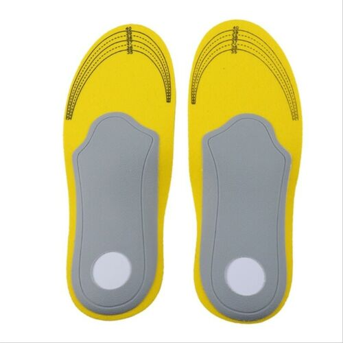 1 Pair Orthopedic Insoles Breathable Flat Foot Arch Support Orthotics Shoes Pad
