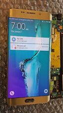 New Samsung Galaxy S6 Edge Plus G928A LCD Digitizer Gold Screen Light SBI