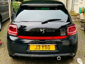 Citroen-DS-DS3-lower-Hatch-Decal-Sticker-Vinyl-QUALITY-any-colour