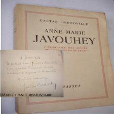 ANNE MARIE JAVOUHEY Fondatrice des Soeurs de Saint Joseph de Cluny G. Bernoville