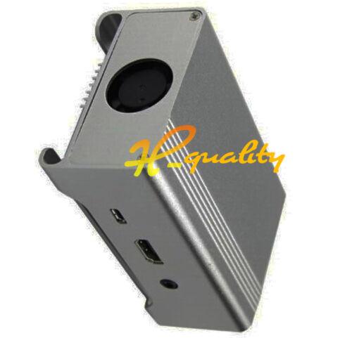 gray Aluminum Shell Enclosure Case Box for Geekworm Raspberry Pi 2 Model B B UL