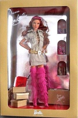 BARBIE LOUBOUTIN DOLLY FOREVER NRFB -GOLD LABEL new model doll collection Mattel