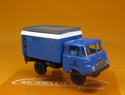 Busch 51606 IFA robur lo 1800 a azules post Studio Technik RDA scale 1 87 nuevo