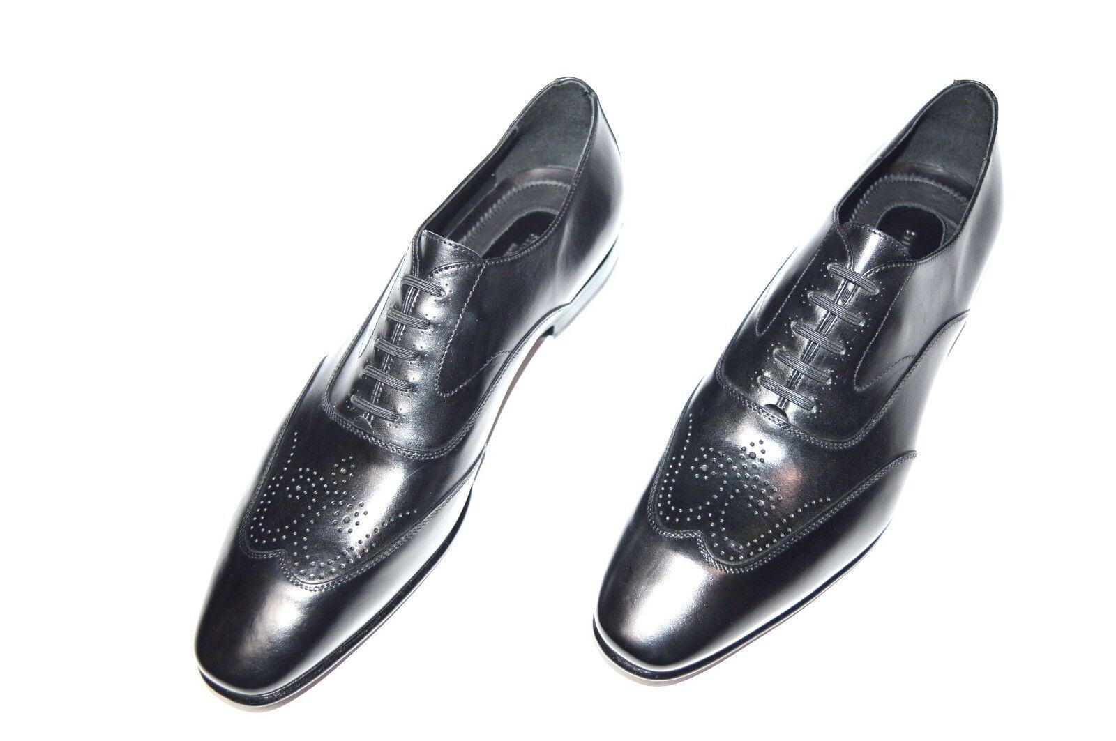 Nuevo De Lujo Cuero STEFANO RICCI Zapatos Talla nos 9 (COD S730)