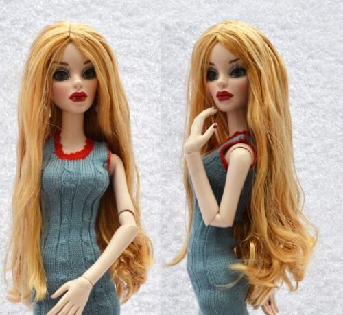 "Sherry 6-7/"" Fashion Wig//Saran for Evangeline Ghastly//Ellowyne Wilde Doll 5-VW-47"