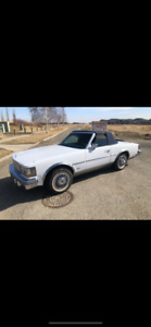 1979 Cadillac Seville Blue Leather