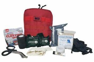 Elite First Aid Tactical IFAK Kit STOCKED Survival Trauma Medic Set MOLLE USAF