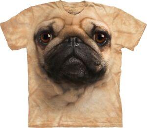 Kinder Jungen Mädchen Mops T-Shirt Lustig Kinder