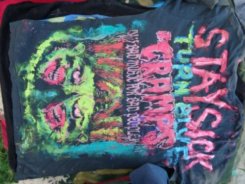 CRAM[PS ;  HAND PAINTED  PUNK  ;  HAND PAINTED USE