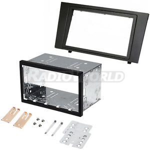 Ford-Mondeo-Double-Din-Fascia-Panel-Adapter-Plate-Cage-Fitting-Kit-DFP-07-07