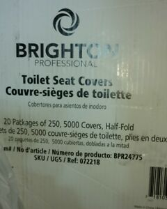 Tremendous Details About Brighton Professional Paper Toilet Seat Covers 5000 Half Fold Covers Total Ibusinesslaw Wood Chair Design Ideas Ibusinesslaworg