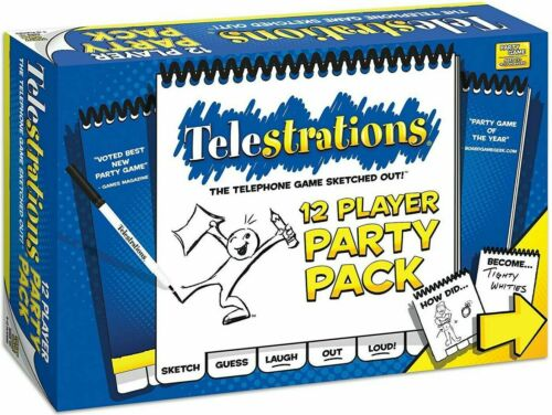 USAopoly PG000-318 Telestrations Party Pack 12 Player
