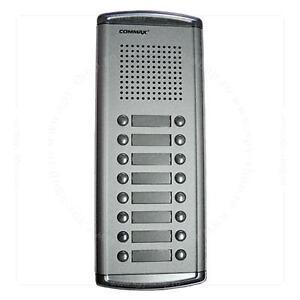 Image Is Loading Commax 16 Ons Audio Intercom Door Bell Panel