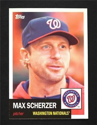 NM-MT 2016 Topps Bunt #126 Max Scherzer