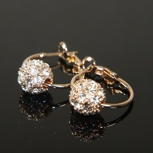 ff1b6c8e7e7e SALE 9K 9ct Gold Filled Earrings made with Swarovski Crystal Xmas ...
