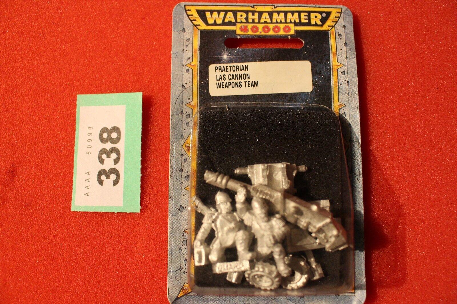 Games Workshop Warhammer 40k Praetorian Lascannon Team Imperial Guards New