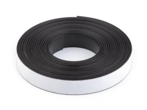 Magnetband selbstklebend Magnetklebeband 3m Magnet