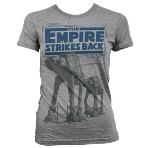 Officially Licensed Star Wars Empire Strikes Back AT-AT Women/'s T-Shirt S-XXL
