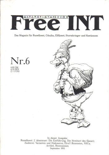 ElfQuest Cthulhu Free INT #6-Das Magazin f RuneQuest Sturmbringer /& Hawkmoon