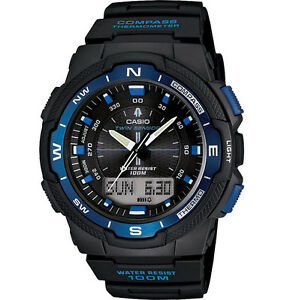 Casio-SGW500H-2BV-Resin-Watch-Compass-Thermometer-5-Alarms-World-Time